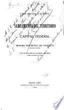 Saneamiento del territorio de la Capital Federal