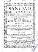 Sanidad del cavallo y otros animales sujetos al arte de albeitería