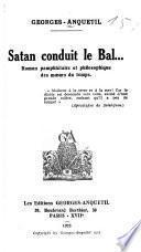 Satan conduit le bal