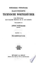 Schlomann-Oldenbourg Illustrierte technische Wörterbücher