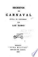 Secretos del carnaval