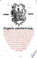 Segunda comedia de la famosa Celestina en laqual se trata de la Resurrection de la dicha Celestina: ... corregida y emendada por Domingo de Gaztelu ..