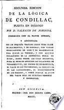 Segunda edicion de La Lógica de Condillac