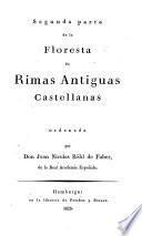 Segunda Parte de la Floresta de Rimas Antiguas Castellanas