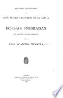 Segundo centenario de don Pedro Calderón de la Barca