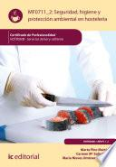 Seguridad e Higiene y Protección Ambiental en Hostelería. HOTR0508