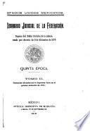 Semanario judicial de la Federación