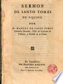 Sermon de Santo Tomas de Aquino