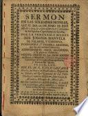 Sermón en las sol. honras de Sor Josepha Manuela de Palafox y Cardona ...