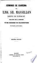 Sermones de Cuaresma del Ilmo. Sr. Massillon