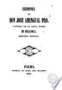 Sermones de Don José Amengual, 1