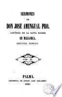 Sermones de Don José Amengual