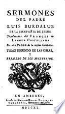 Sermones de el padre Luys Burdalue [...]