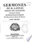Sermones de Mr. Lafitau, obispo de Sisteron
