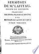 Sermones de Mr. Lafitau... Obspo de Sisteron, 3-4