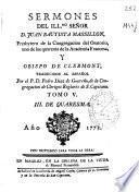 Sermones del Illmo. señor D. Juan Bautista Massillon ...