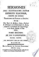 Sermones del ilustrisimo señor Espiritu Flechier ...