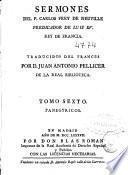 Sermones del P. Carlos Frey de Neuville ...