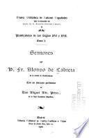 Sermones del P. Fr. Alonso de Cabrera ...