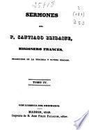 Sermones del P. Santiago Bridaine ...: (286 p.)