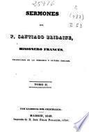 Sermones del P. Santiago Bridaine, misionero francés