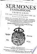 Sermones Panegóricos...