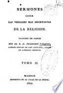 Sermones sobre las verdades más importantes de la religión: (376)