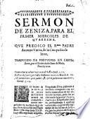 Sermones varios