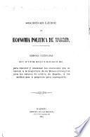 Sesiones celebradas en 7, 18 y 27 de Mayo y 2 de Junio de 1863, para discutir y examinar los obstáculos que se oponen á la reapertura de las Bolsas extranjeras para los valores de crédito de España, y los medios mas á propósito para conseguirla
