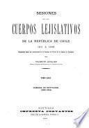 Sesiones de los cuerpos lejislativos de la República de Chile, 1811-1845: Cámara de diputados, 1833-34
