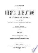 Sesiones de los cuerpos lejislativos de la República de Chile, 1811-1845: Cámara de Senadores, 1829, i Congreso de Plenipotenciarios, 1830
