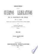 Sesiones de los cuerpos lejislativos de la República de Chile, 1811-1845: Cámara de senadores: 1840-41