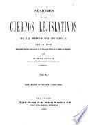 Sesiones de los cuerpos lejislativos de la República de Chile