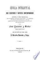 Sevilla intelectual, sus escritores y artistas contemporáneos