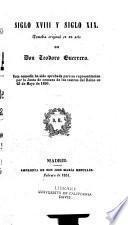Siglo XVIII y siglo XIX