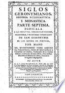 Siglos Geronimianos. Historia general eclesiastica, monastica y secular