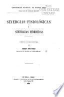 Sinergias fisiológicas y sinergias mórbidas ...
