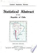 Sinópsis estadística de la República de Chile