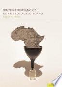 Sintesis sistematica de la filosofia africana