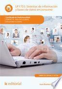 Sistemas de información y bases de datos en consumo. COMT0110