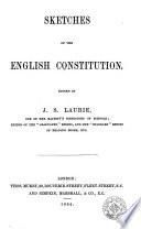Sketches of the english constitution