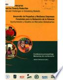 Small and Medium Enterprise Development for Poverty Reduction