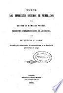 Sobre los diferentes sistemas de numeracion y la teoría de numeros primos