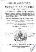 Sobrino aumentado, o Nuevo diccionario de las lenguas española, francesa y latina, 2