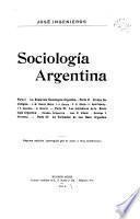 Sociología argentina