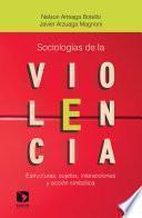 Sociologías de la violencia. Estructuras, sujetos, interacciones y acción simbólica