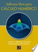 Software libre para cálculo numérico