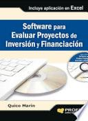 Software para evaluar proyectos de inversión y financiación