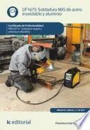 Soldadura MIG de acero inoxidable y aluminio. FMEC0210