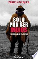 Solo por ser indios y otras crónicas mapuches